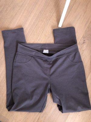 Cecilia Classics Pantalon strech gris-gris foncé
