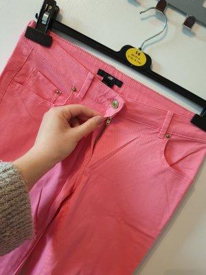 Hose Stoffhose pink rosa Gr. 38 H&M NEU