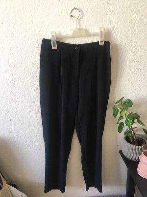 Hose Stoffhose von H&M in schwarz Größe 38