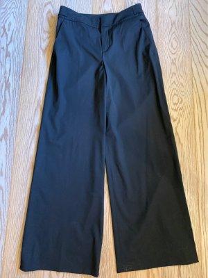 Blue Strenesse Pantalon Marlene noir