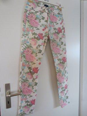 Darling Harbour Pantalone elasticizzato multicolore Cotone