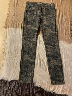 Cambio Jeans skinny multicolore coton