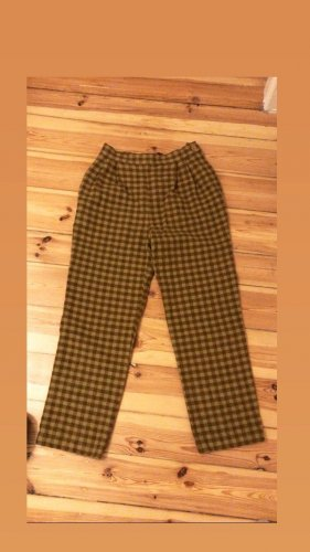American Vintage Boyfriend Trousers bronze-colored-sand brown
