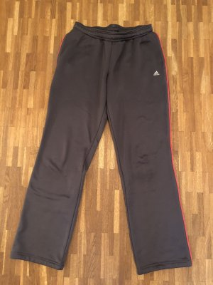 Adidas Spodnie sportowe szary-malina