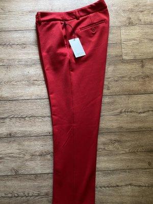 Adrienne Vittadini Pantalon chinos rouge-rouge foncé