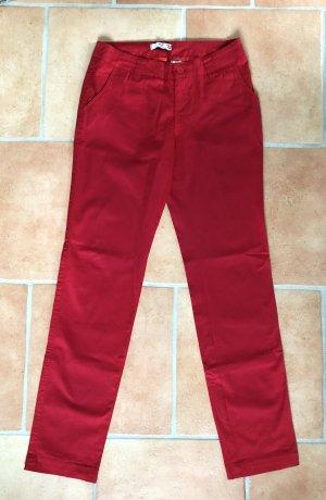 AJC Pantalon en jersey rouge brique