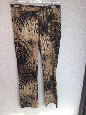 Alba Moda Spodnie materiałowe Wielokolorowy Bawełna