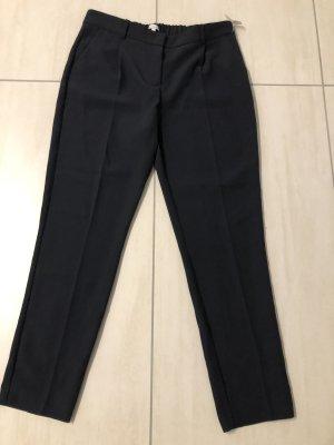 Apriori 7/8-broek donkerblauw