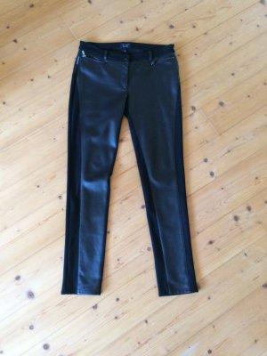 Armani Jeans Five-Pocket Trousers black cotton