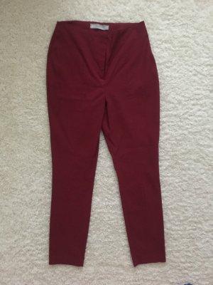 Asos Petite High Waist Trousers carmine-dark red