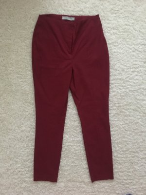 Asos Petite High Waist Trousers carmine-dark red