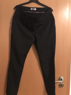 BAF Spodnie rurki czarny