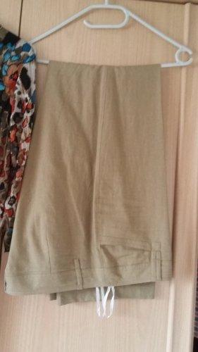 Bexleys Linen Pants camel-grey brown linen