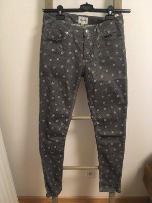 Bimba & Lola Skinny Jeans grey-white mixture fibre