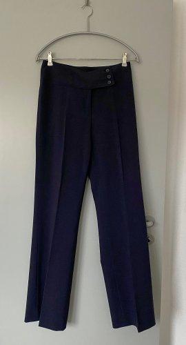Blacky Dress Pantalon en jersey bleu foncé polyester
