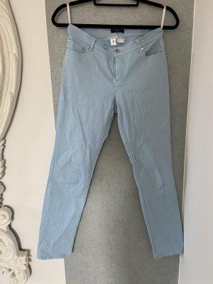 b.p.c. Bonprix Collection Pantalone a 7/8 azzurro