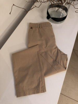 Hugo Boss pantalón de cintura baja beige