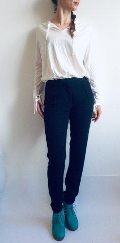 Hugo Boss Pantalone peg-top nero-blu scuro
