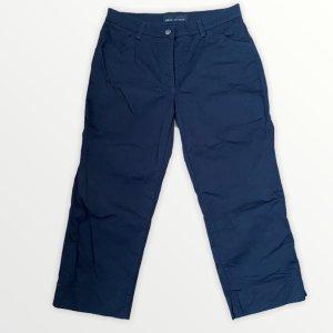 Brax Stoffen broek donkerblauw