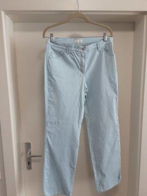 Brax Pantalon en jersey bleu azur