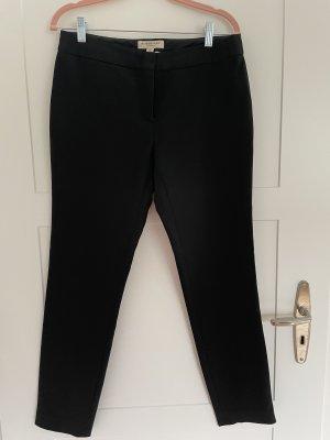 Hose von Burberry, schwarz, Größe 38