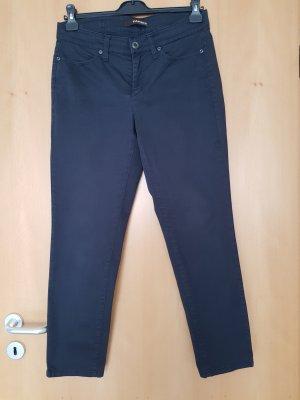 Cambio Jersey Pants dark blue