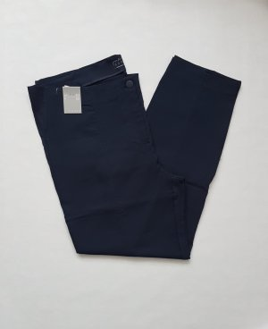 Canda Stoffen broek donkerblauw
