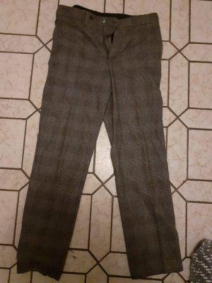 Christian Berg Woolen Trousers bronze-colored-black wool