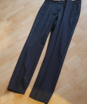 Comma Pleated Trousers black brown-taupe