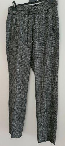 Comma Jersey Pants white-black