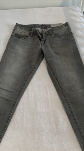Diesel Low-Rise Trousers light grey