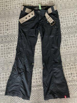 edc by Esprit pantalón de cintura baja negro