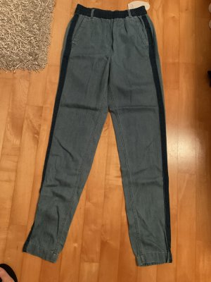 Esprit Pantalon large multicolore coton