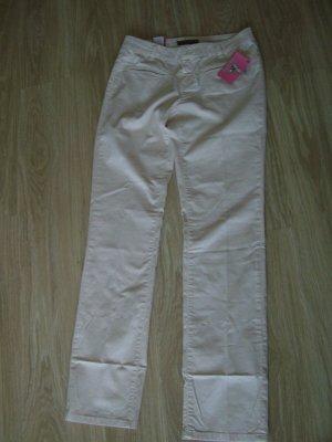 Frieda & Freddies New York Pantalón tipo suéter blanco