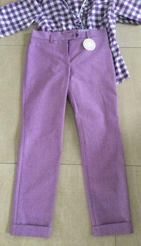 Gaisberger Pantalón folclórico púrpura
