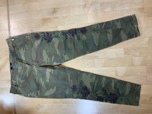 Gdesign Pantalon cargo multicolore