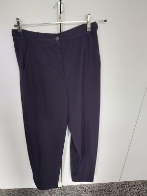 Gianni Versace Woolen Trousers dark blue
