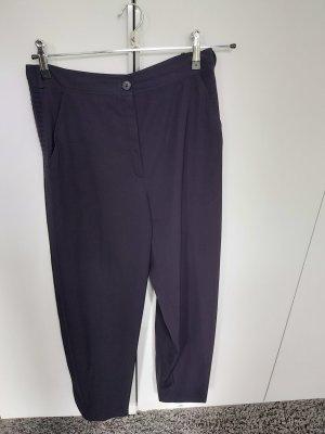 Gianni Versace Woolen Trousers dark blue