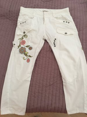 Guess 3/4 Length Trousers white