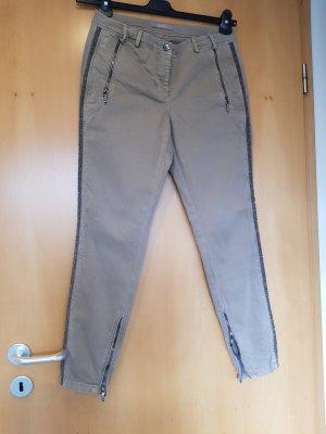 Gustav Drainpipe Trousers beige