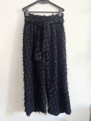 H&M Pallazzobroek donkerblauw