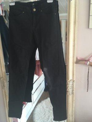 Hose von H&M in schwarz Größe 36