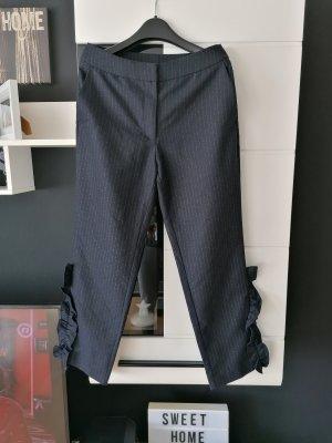 H&M Chino color plata-azul oscuro