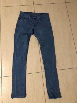 Campus Pantalone cinque tasche blu acciaio