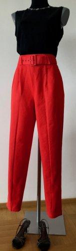 Joop! Pantalón de cintura alta rojo claro Algodón