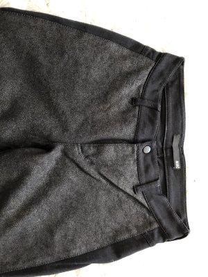 Mac Hoge taille broek zwart