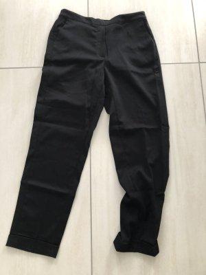 Mango 7/8 Length Trousers black