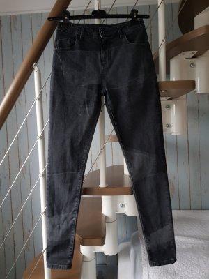 Maryley Pantalone a sigaretta grigio-grigio scuro