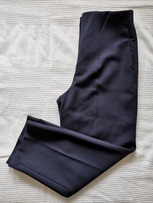 Massimo Dutti Pantalone a pieghe blu-blu scuro