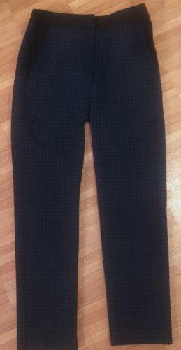 Max & Co. Pantalón elástico negro-azul oscuro Licra